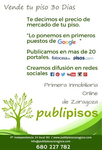 inmobiliaria en Zaragoza PUBLIPISOS