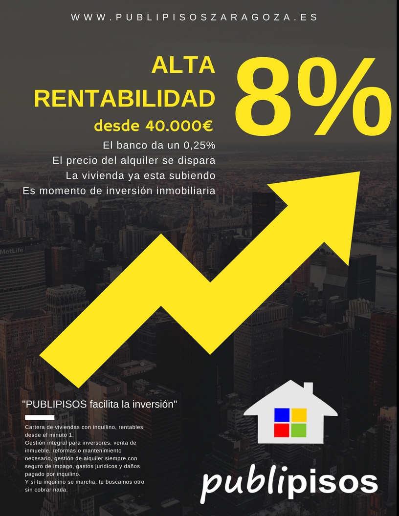 alta rentabilidad inmobiliaria PUBLIPISOS