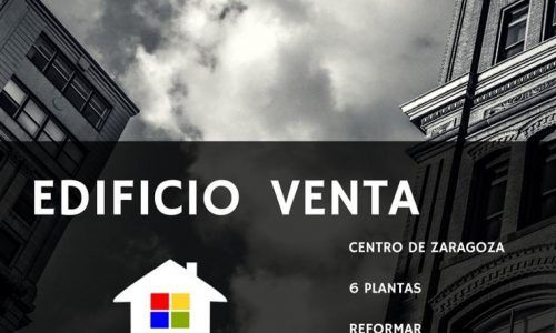 VENTA EDIFICIO CENTRO DE ZARAGOZA | PUBLIPISOS