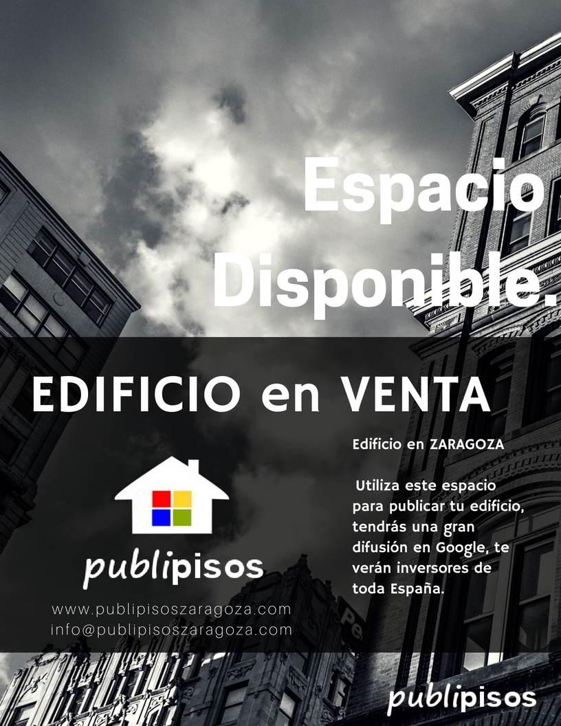Edificio en Venta Zaragoza