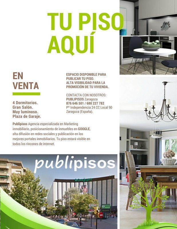 Ejemplo 3 Portada Magazine Desing Venta de Pisos Zaragoza