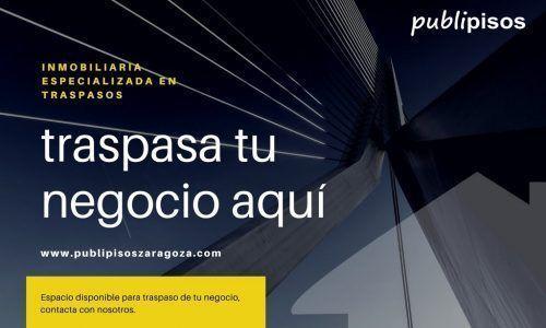 Inmobiliarias Zaragoza especializada en traspasos de negocios
