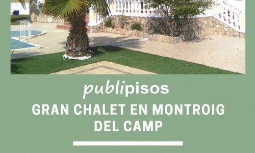 Venta Chalet primera linea Playa Cambrils | Publipisos Inmobiliarias