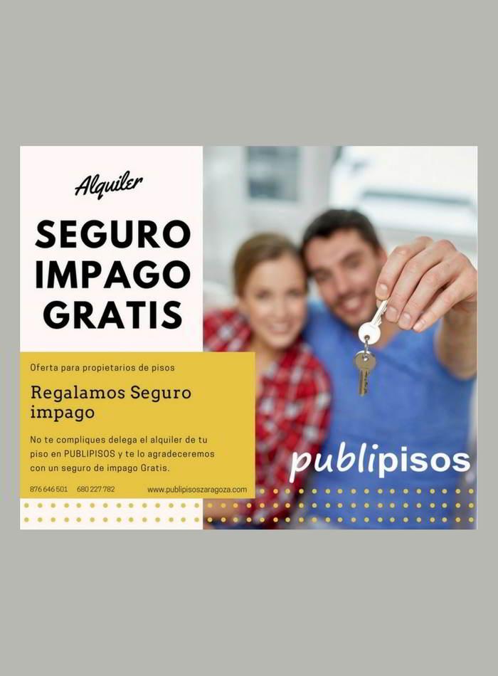 Pisos de alquiler Centro de Zaragoza