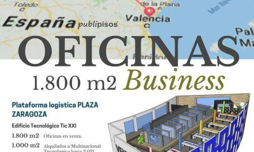 Venta Oficinas Plaza Zaragoza Inversores