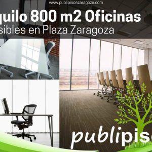 Alquiler de Oficinas en Plaza Zaragoza Plataforma Logistica