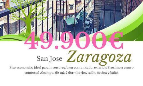 Piso económico San Jose Zaragoza