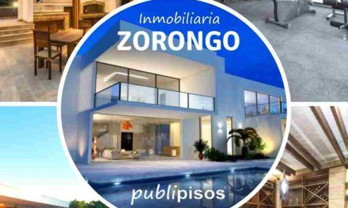 Venta Chalet Zorongo Inmobiliaria Zoronog