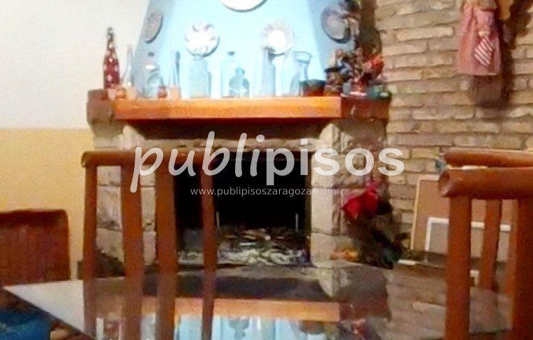 Chimenea Venta Chalet adosado Miralbueno Zaragoza   Inmobiliarias Zaragoza