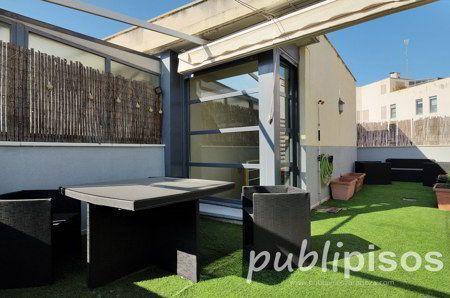 Terraza Duplex Lujo Paseo de la Ribera Inmobiliarias Zaragoza Publipisos