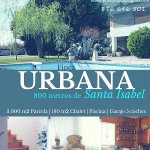 Chalet Santa Isabel con Piscina