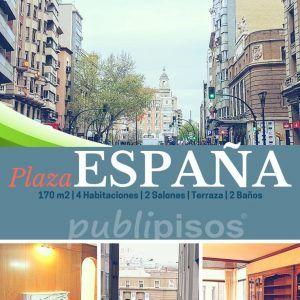 Piso Coso junto Plaza España Zaragoza.