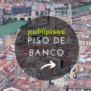 Piso de banco centro histórico Zaragoza