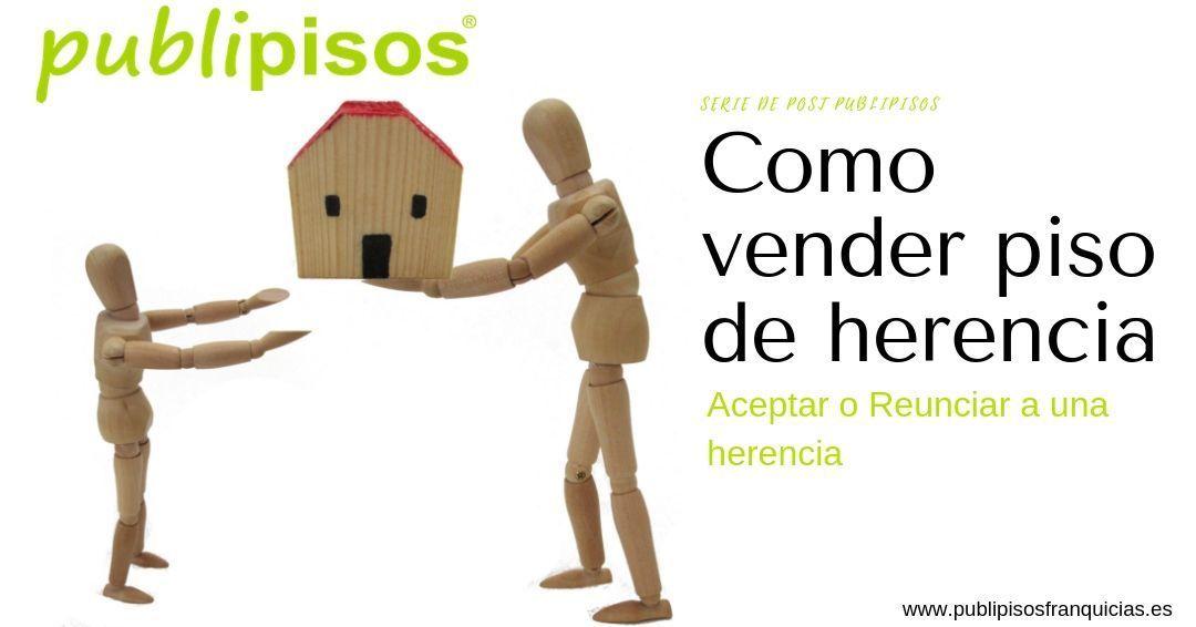 Aceptar herencia para venta de piso en Zaragoza