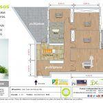 Plano venta piso san juan de mozarriofar