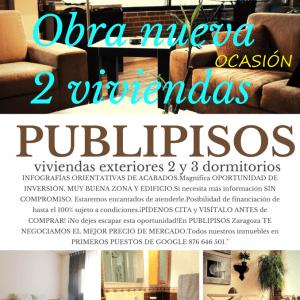 Venta piso nuevo Zaragoza