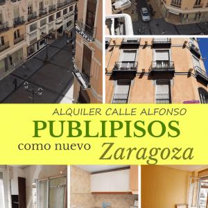 Piso alquiler centro Plaza del Pilar Zaragoza