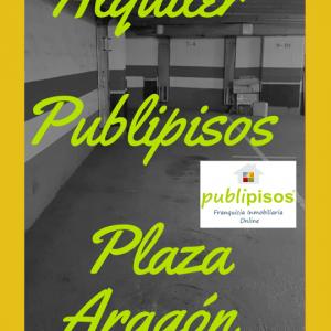 Alquiler plazas de Garaje Plaza Aragón Zaragoza