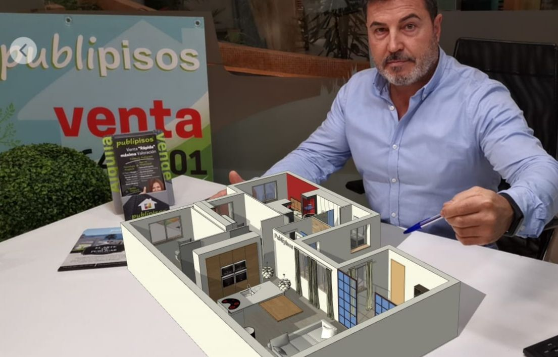 Franquicias inmobiliarias Zaragoza PUBLIPISOS Servicio Realidad Aumentada