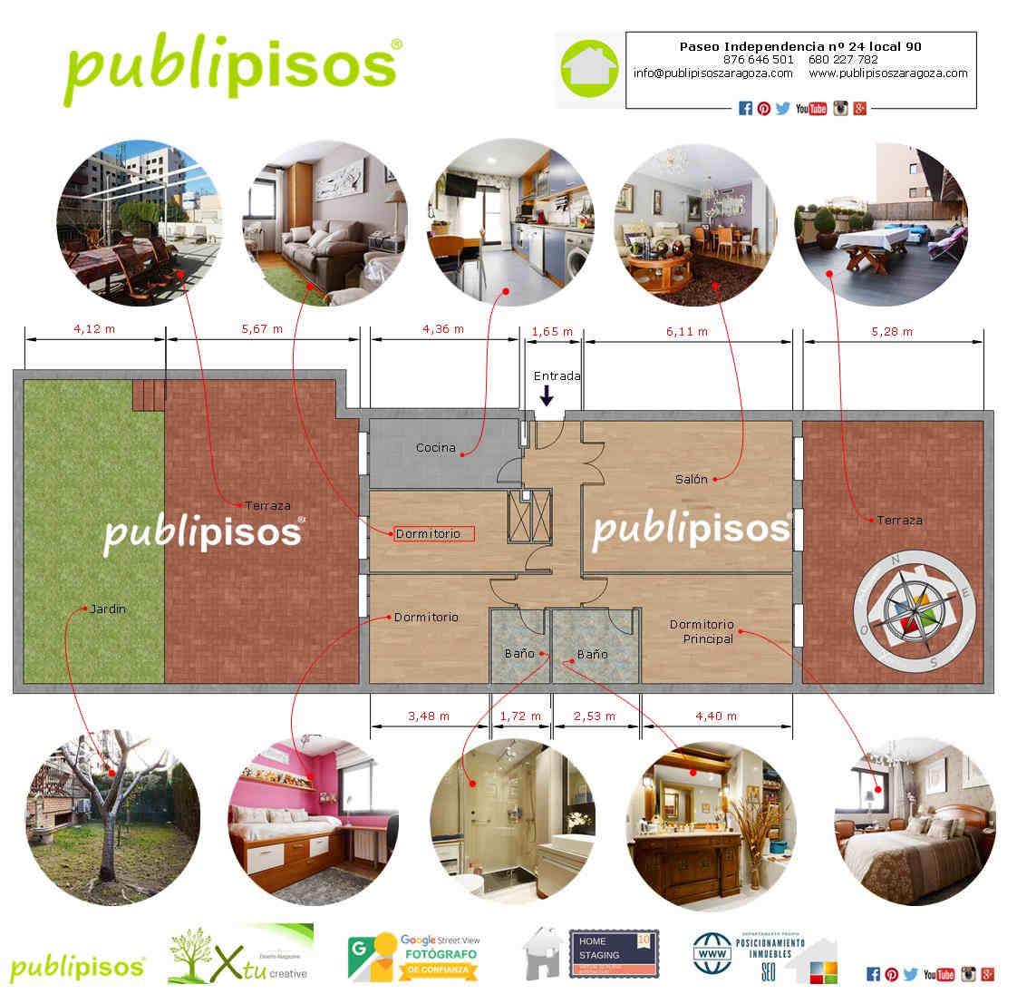 Venta piso Miralbueno Zaragoza Inmobiliarias Zaragoza Publipisos