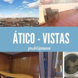Atico Zaragoza con vistas Tenor Fleta