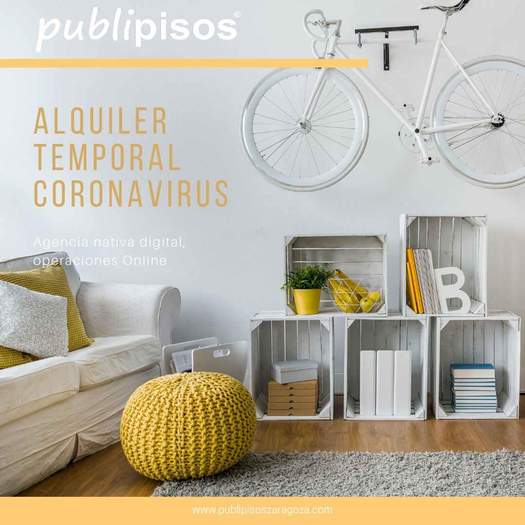 alquiler temporal conoravirus