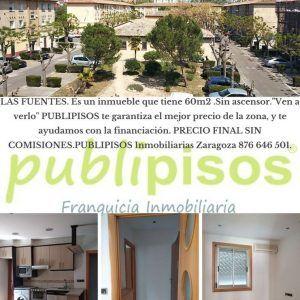 Piso económico Las Fuentes Zaragoza