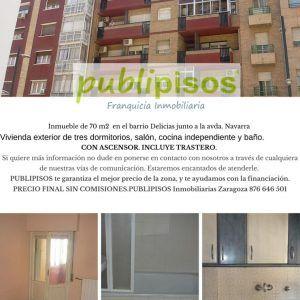 Piso en venta Santa Orosia Delicias Zaragoza