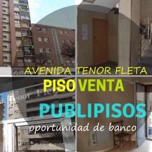 Piso económico en venta Tenor Fleta Zaragoza