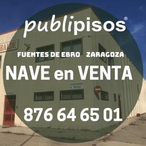 Venta de nave en Fuentes de Ebro