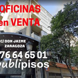 Venta de oficinas en centro Zaragoza