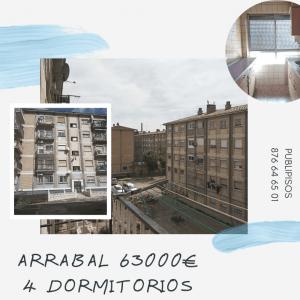 Venta de piso barato en Arrabal