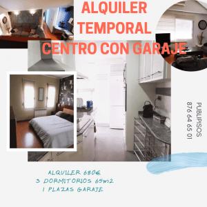 Alquiler temporal con garaje Zaragoza