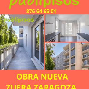 Oportunidad vivienda Obra Nueva Zuera