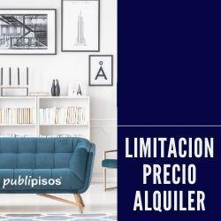 LIMITACION PRECIO ALQUILER PISOS