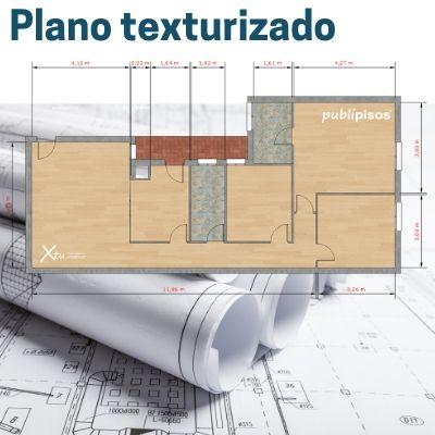 Plano texturizado para venta inmobiliaria
