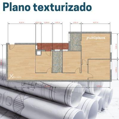 plano texturizado para vender pisos Zaragoza