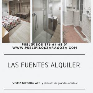 Piso de alquiler reformado en Las Fuentes