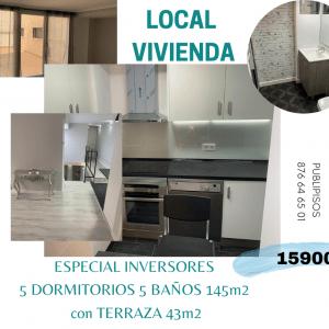 Local-Vivienda en Delicias Zaragoza