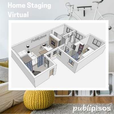 Home Staging Virtual venta pisos inmobiliaria Zaragoza
