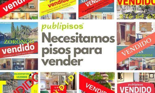 Pisos para vender Publipisos inmobiliarias Zaragoza la imagen muestra pisos vendidos