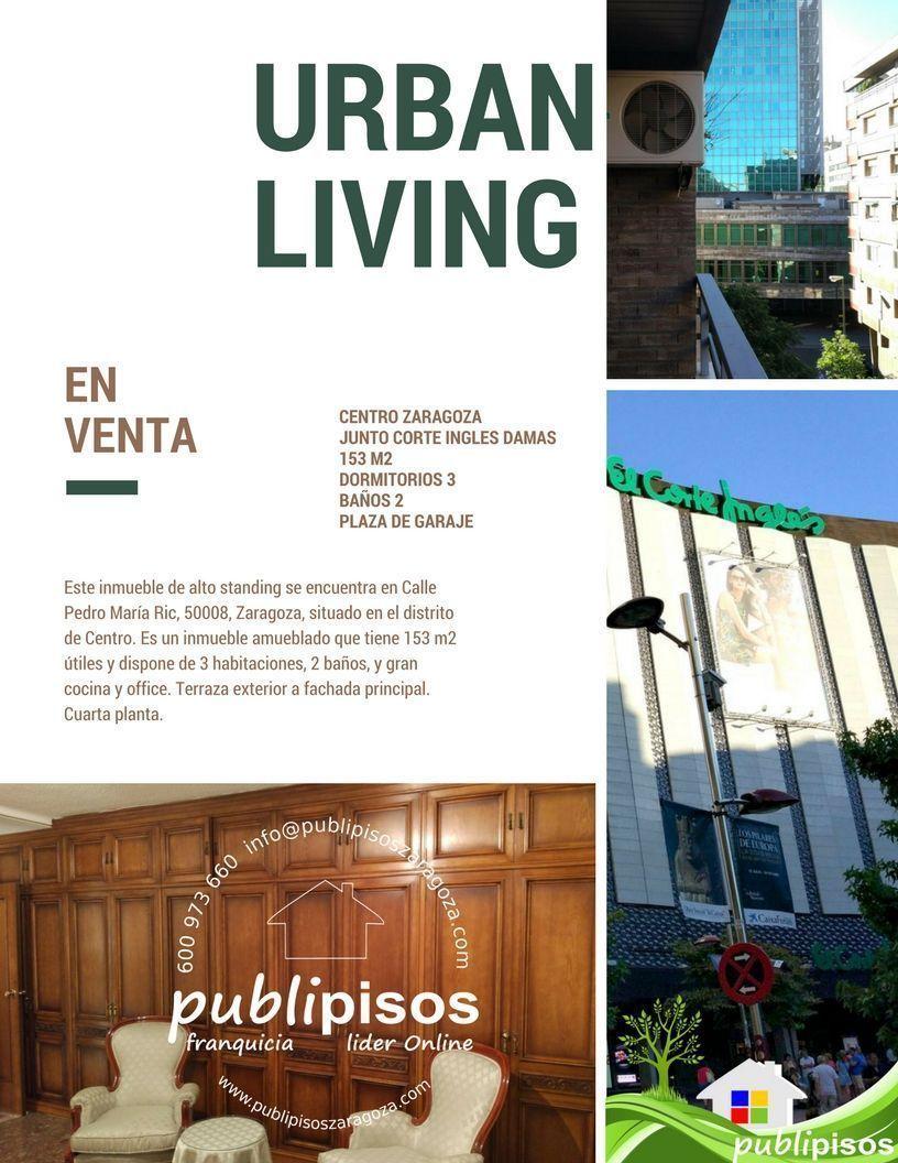 Piso centro corte ingles plaza arag n publipisos for Piso zaragoza centro