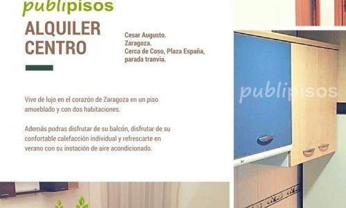 Listings archivo publipisos inmobiliarias zaragoza for Alquiler piso zaragoza centro